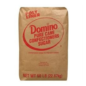 Domino 6X Confectioners Sugar 25lb.