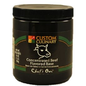 Custom CulinaryConcentrated Beef Flavored Base - 1lb