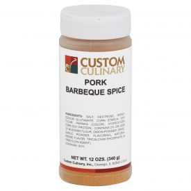Custom Culinary Pork Barbeque Spice - 12 oz
