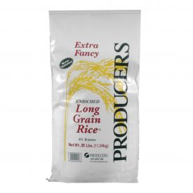 Producers Extra Fancy Long Grain White Rice - 25lb
