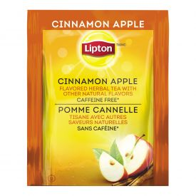 Lipton Cinnamon Apple Flavor Individual Herbal Tea Bags