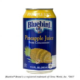 Bluebird Pineapple Juice 11.5oz.