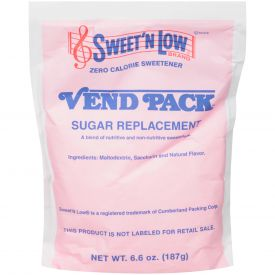 Sweet and Low Sugar Substitute 6.6oz.
