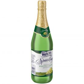 Welch's Sparkling White Grape Juice 25.4oz.