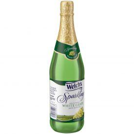 Welch's Sparkling White Grape Juice 25.4oz.