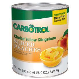 Carbotrol Sliced Peach 105oz.