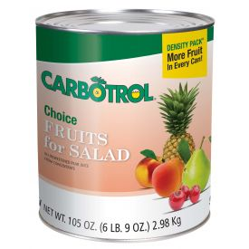 Carbotrol Fruits For Salad 105oz.