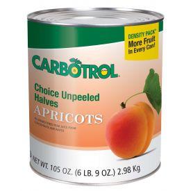 Carbotrol Apricot Halves 105oz.