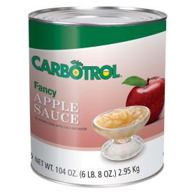 Carbotrol Applesauce 104oz.
