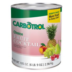 Carbotrol Fruit Cocktail 105oz.