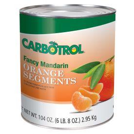 Carbotrol Mandarin Oranges 104oz.