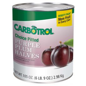 Carbotrol Plum Halves 105oz.