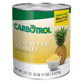 Carbotrol Pineapple Tidbits 107oz.