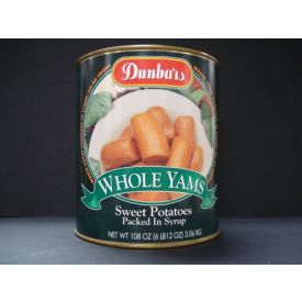 Dunbar Fancy Whole Sweet Potatoes - 108oz