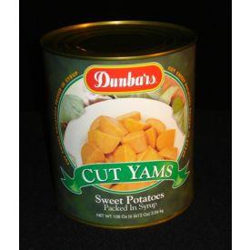 Dunbar Fancy Cut Sweet Potatoes - 108oz