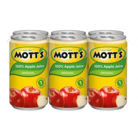 Mott's Original Apple Juice 5.5oz