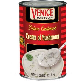 Venice Maid Cream Of Mushroom Soup - 51oz