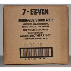 Marx Brothers 7-Eleven Meringue Stabilizer 25lb.