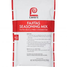 Lawry's Fajitas Seasoning Mix - 8.9 oz