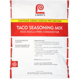 Lawry's Taco Seasoning Mix - 22 oz