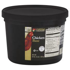 Gold Label Chicken Base - 4lb