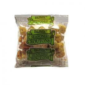 Burry Seasoned Croutons Portion Pack .25oz