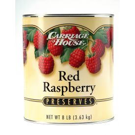 Carriage House Red Raspberry Preserves 128oz.