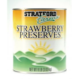 Stratford Farms Strawberry Jam 128oz..