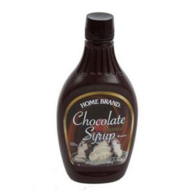 Home Brand Chocolate Syrup 24oz.
