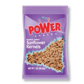 Power Snacks Roasted Sunflower Seed Kernels - 1oz