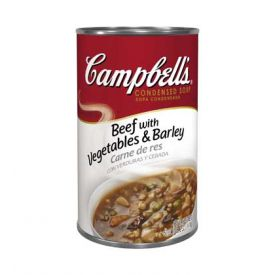 Campbell's Condensed Beef Barley Soup - 50oz