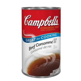 Campbell's Soup Beef Consomme 12-50 ounce cans