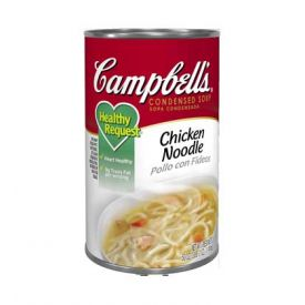 Campbell's Healthy Request Chicken Noodle Soup 50oz