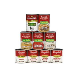 Campbell's Low Sodium Cream Of Mushroom Soup 7.25oz