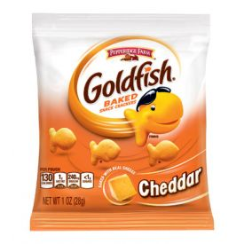 Goldfish Cheddar Baked Snack Crackers, 1 oz