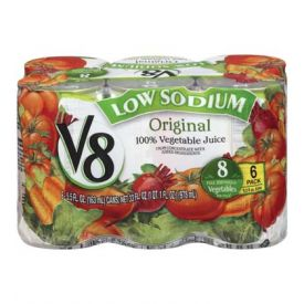 V8 Low Sodium Juice 5.5oz.