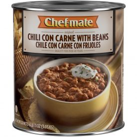 Chef-Mate Original Chili Con Carne With Beans 6.68lb