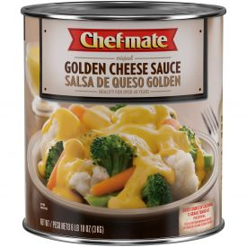 Chef-Mate Golden Cheese Sauce - 106oz