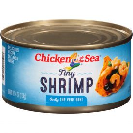 Chicken Of The Sea Tiny Shrimp 4oz.