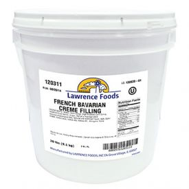 Lawrence Foods French Bavarian Cream Filling 20lb.