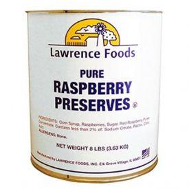 Lawrence Foods Raspberry Preserves 128 oz.