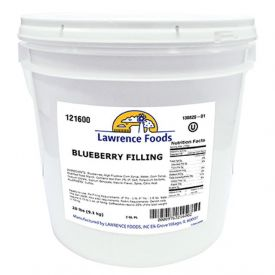 Lawrence Foods Deluxe Blueberry Filling 20lb.