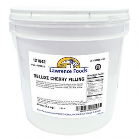 Lawrence Foods Deluxe Cherry Filling 20lb.