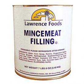 Lawrence Foods Mincemeat Filling 7lb.