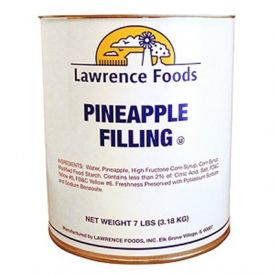 Lawrence Foods Pineapple Filling 7lb.