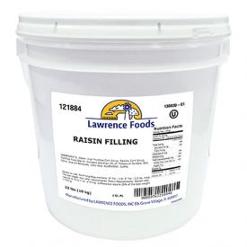 Lawrence Foods Raisin Filling 22lb.