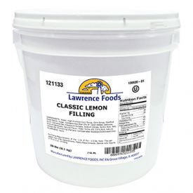 Lawrence Foods Classic Lemon Filling 20lb.