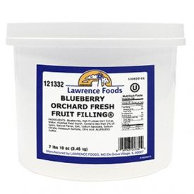 Lawrence Foods Blueberry Orchard Fresh Fruit Filling 7.625lb.