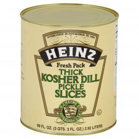 Heinz Kosher Dill Pickle Slices 99oz.