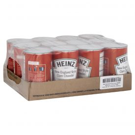 Heinz New England Clam Chowder Soup 50oz
